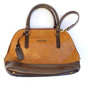 Tignanello Leather Satchel Shoulder Bag